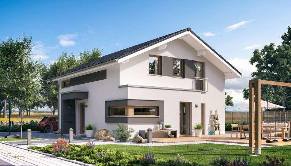Helle Räume & moderne Architektur - geräumiges Einfamilienhaus