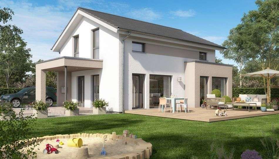 Helles & offenes Wohnkonzept in modernem Einfamilienhaus